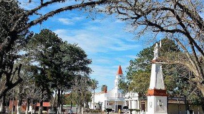La ciudad de San Roque, en la provincia de Corrientes.