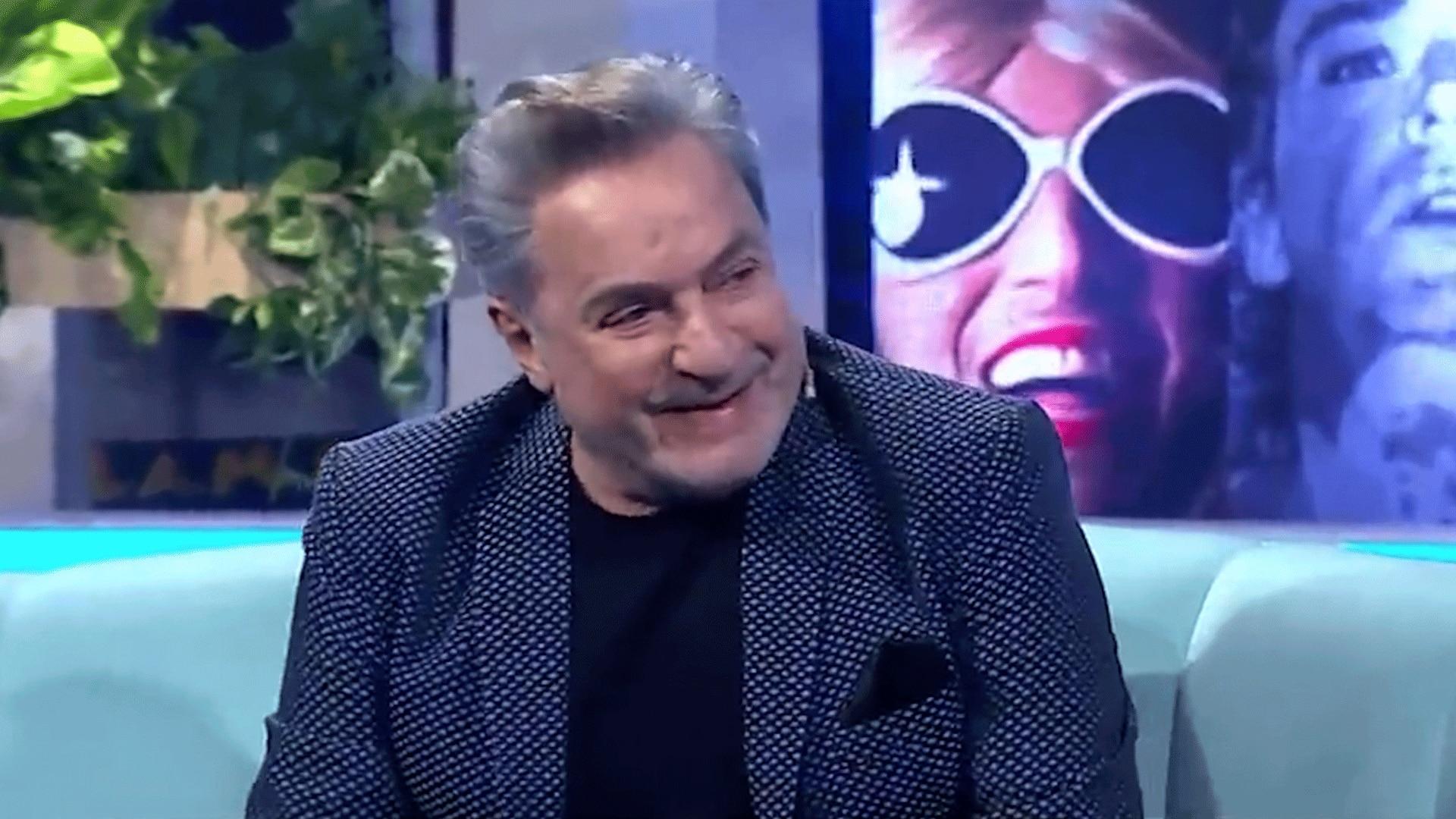 Antonio Grimau se emocionó al ver un resumen de su carrera