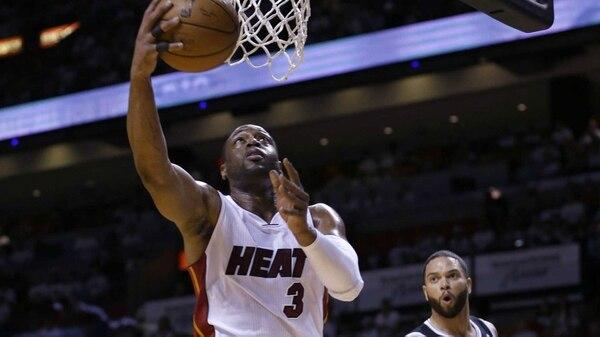 Dwyane Wade es uno de los mejores amigos de LeBron James (AP)