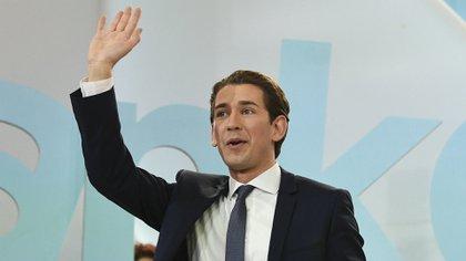 Kurz tuvo un meteórico ascenso en la política austriaca (AFP)