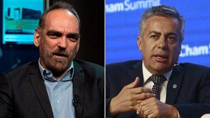 Fernando Iglesias y Alfredo Cornejo