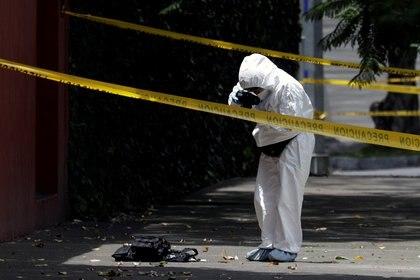 El inédito ataque ocurrió en el corazón de la Ciudad de México (Foto: Luis Cortés/ Reuters)