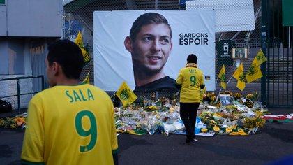 El avión que trasladaba a Sala desapareció el 21 de enero (AP)
