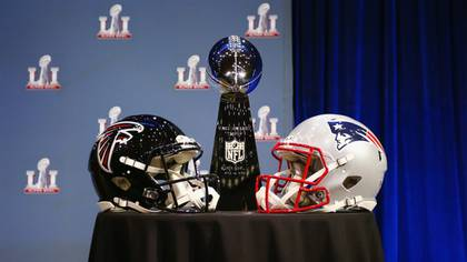 Atlanta Falcons y New England Patriots se enfrentarán en el Super Bowl LI (Getty)
