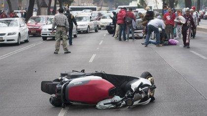 En el mismo periodo suman 16 ciclistas muertos en incidentes como atropellamientos, derrapes o la pérdida de equilibrio, choque contra otros vehículos, o caídas, afirmó la dependencia (Foto: Cuartoscuro)