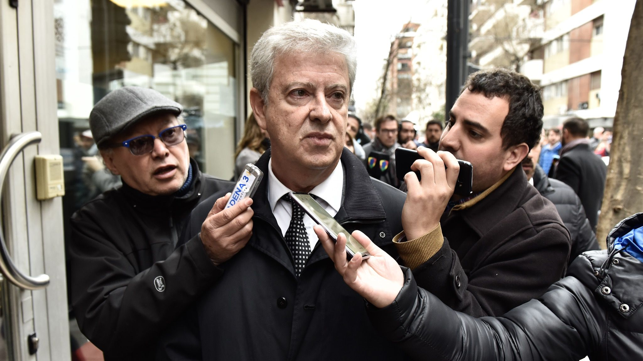 El abogado Carlos Beraldi, a cargo de la defensa de Cristina Kirchner en este juicio. (Adrián Escandar)