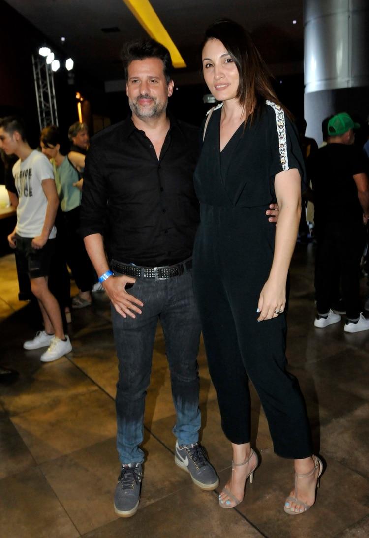 José María Listorti y Mónica González