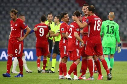 El Bayern Múnich es uno de los serios candidatos al título en la UEFA Champions League (REUTERS)