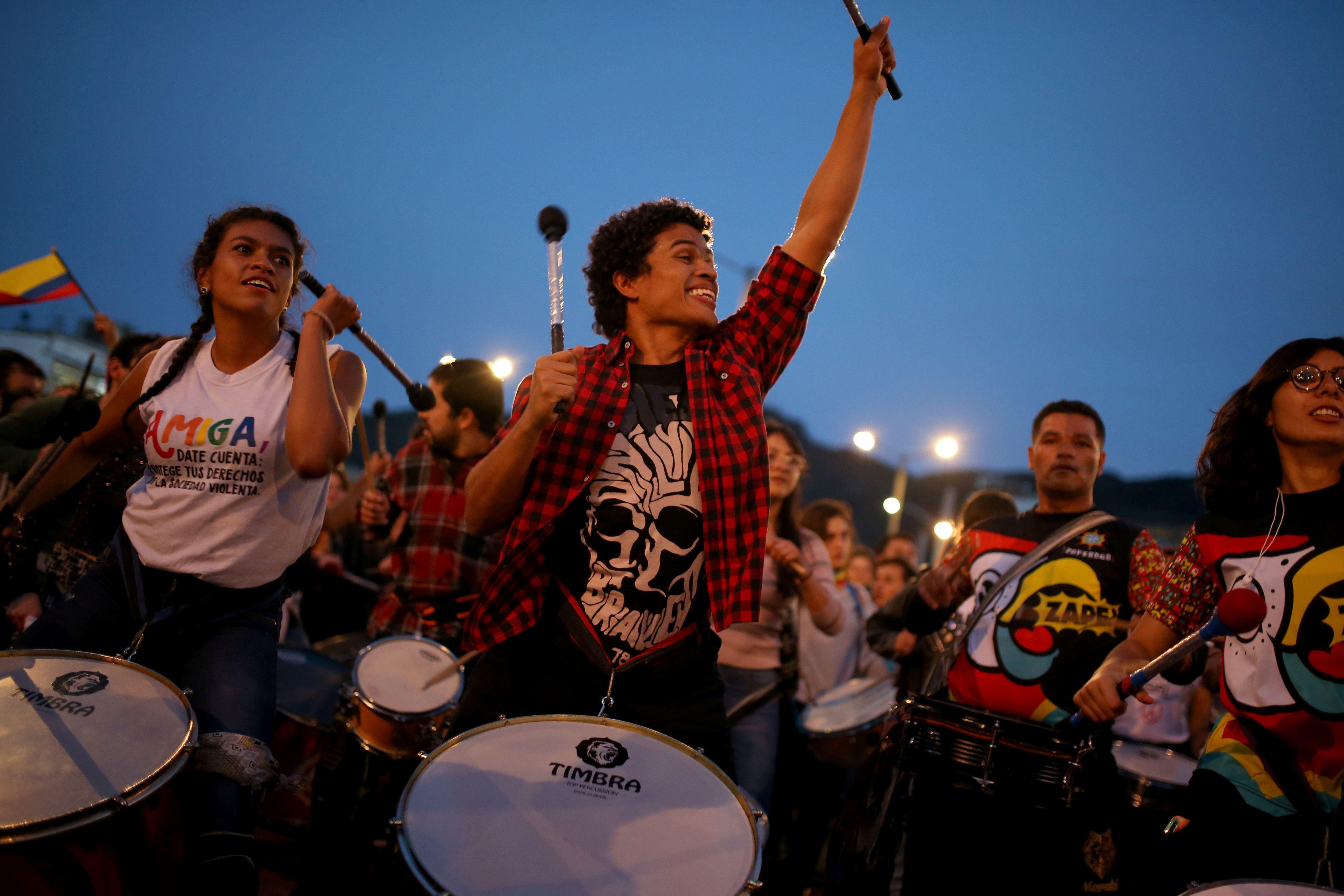 así cambiaron las tendencias musicales en Colombia durante el Paro Nacional  REUTERS/Luisa Gonzalez