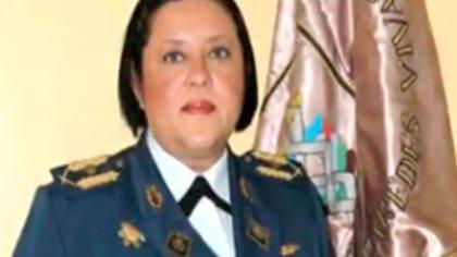 Mayor General de la Aviación Gloria Mercedes Castillo