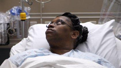 Kendra Jackson sufrió años por una filtración de líquido cerebrospinal. (Nebraska Medicine/ENT)