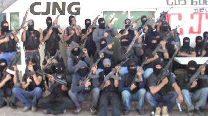 Miembros de el Cártel Jalisco Nueva Generación