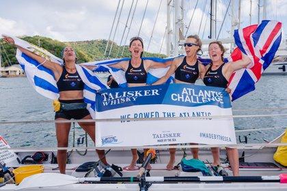 Sofía Deambrosi tiene 29 años, es uruguaya y cruzó a remo el Océano Atlántico en el marco del Talisker Whisky Atlantic Challenge