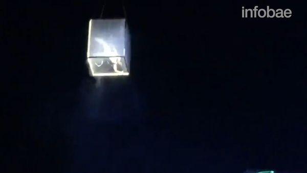 Acróbata muere tras caer desde 30 metros de altura en festival