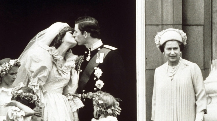 La boda del príncipe Carlos y Diana Spencer el 29 de julio de 1981 (Shutterstock)