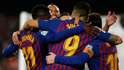 El martes el Barcelona jugará la revancha de la semifinal de la Champions League ante el Liverpool(AFP)