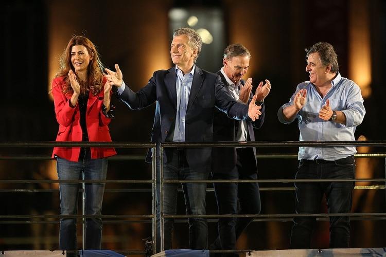 Mauricio Macri realizó el cierre de campaña en la provincia de Córdoba. (Mario Sar)