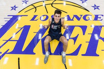 Leandro Bolmaro tiene el sueño de jugar en la NBA (NBA Academies)