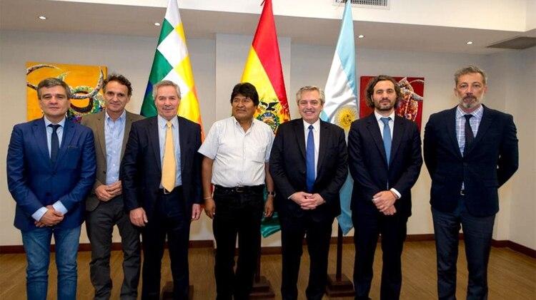 La cercanía de Alberto Fernández con Evo Morales no es bien vista por el gobierno de EEUU