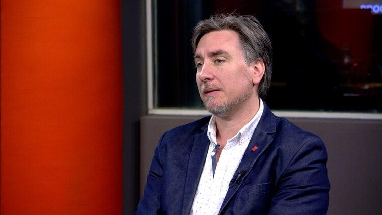 Diego Tipping, presidente de la Cruz Roja Argentina.