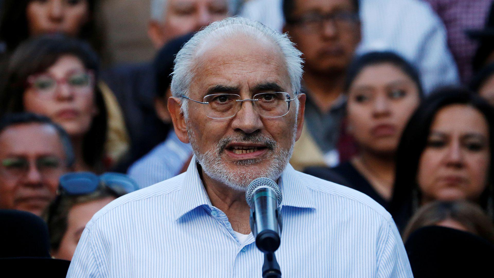Carlos Mesa (REUTERS/David Mercado)