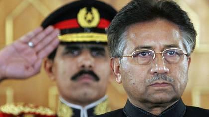 Musharraf, cuando aún era presidente de Pakistán (AP)