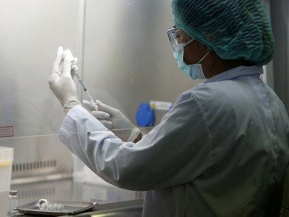 En la Argentina, Fundación Huésped dio inicio la Fase III luego de que a fines de agosto el Ministerio de Salud acordara con el gobierno chino el testeo en el país de esta vacuna (DPA)