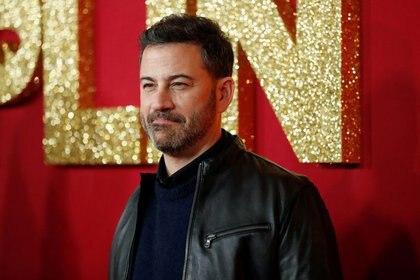 FOTO DE ARCHIVO: El presentador de televisión Jimmy Kimmel posa en el estreno de la película Dumplin en Los Ángeles, California, EEUU, el 6 de diciembre de 2018.REUTERS/Mario Anzuoni/