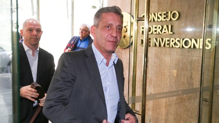 Mariano Arcioni se hizo cargo del gobierno de Chubut luego de la muerte de Mario Das Neves (NA)