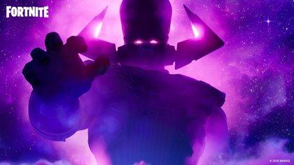 Galactus arribará hoy a la isla con el fin de eliminar todo
