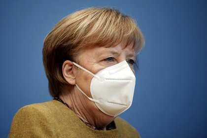 La canciller de Alemania, Angela Merkel. Michael Kappeler/Pool via REUTERS