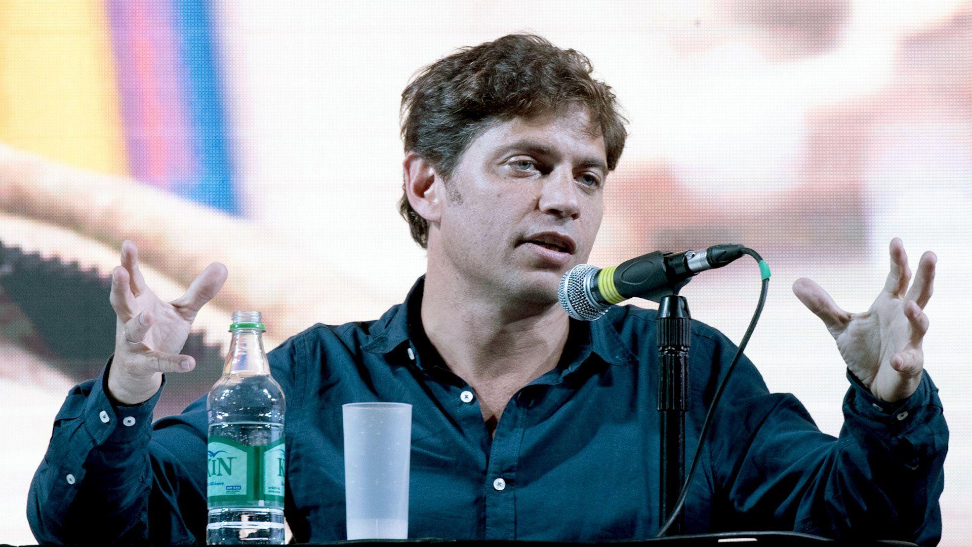 El ex ministro de Economía Axel Kicillof habló de control de capitales como una medida posible