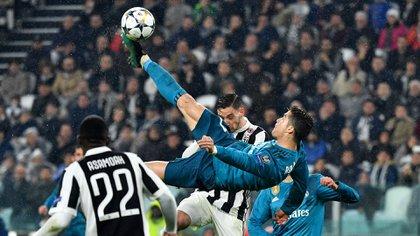 Así definió Cristiano Ronaldo ante la Juventus (AFP)