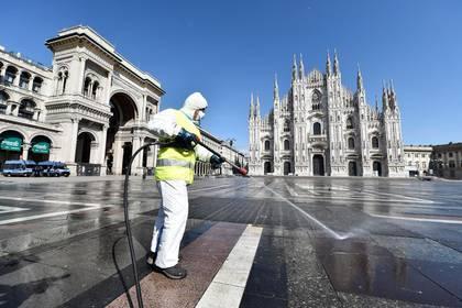 Italia es uno de los países más golpeados por la pandemia con más de 12 mil muertos REUTERS
