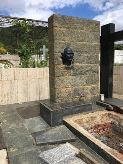 El mausoleo del ex presidente Joaquín Crespo