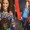 A la izquierda, la mujer que murió de cáncer; y a la derecha, la nueva novia de Jake Coates