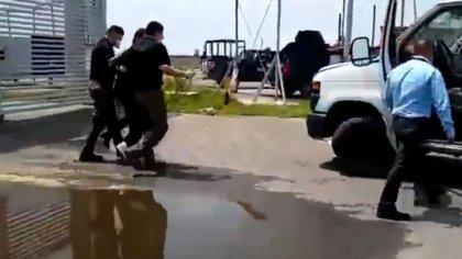 El Mochomo fue liberado y re aprehendido unas horas después la semana pasada (Foto: Captura de pantalla)