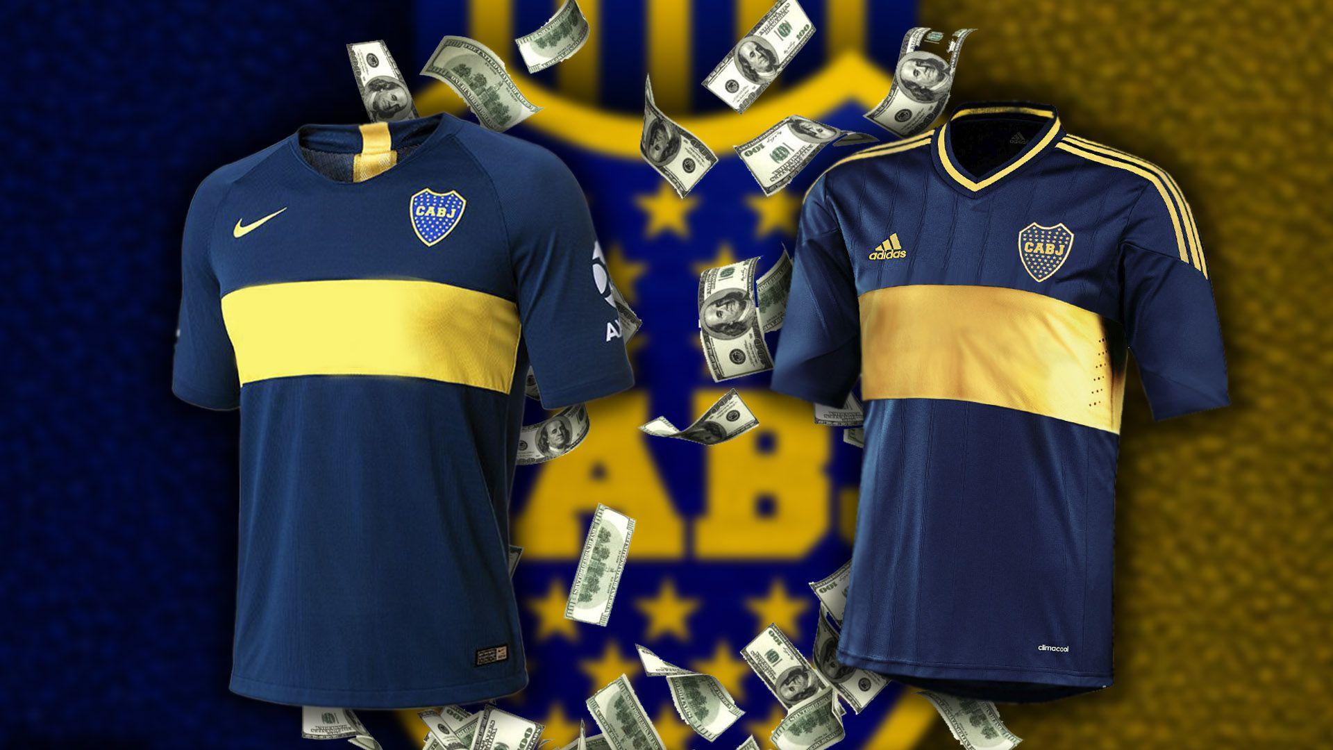 El año pasado, Nike dejó de ser la marca deportiva de Boca luego de más de 20 años. La reemplazó su rival, Adidas