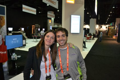 Junto a Lucas Funes, su marido formaron Weebe, la startup