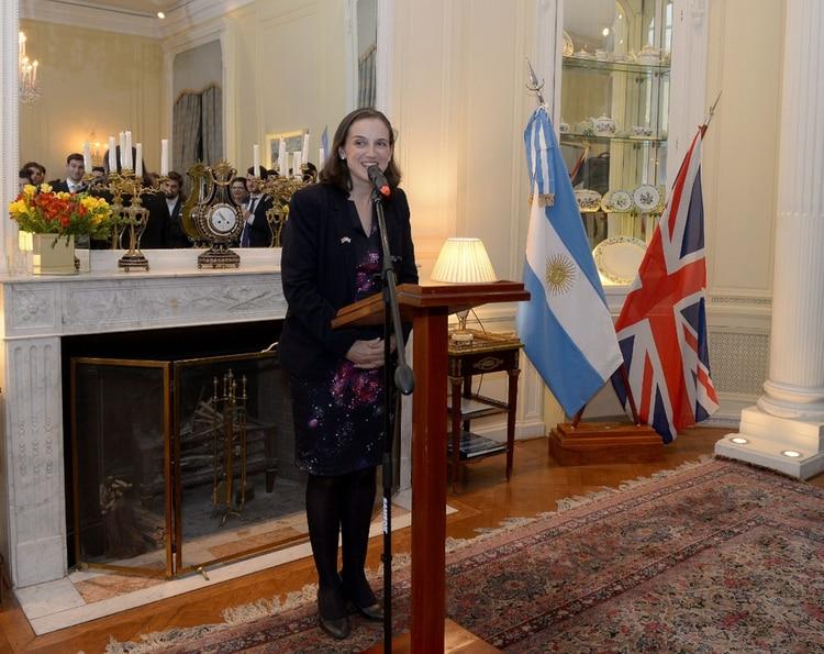 Elizabeth Green, vice embajadora del Reino Unido en Buenos Aires
