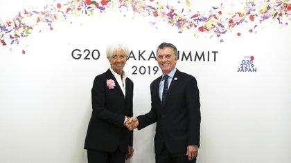 Macri y Lagarde, de muy buena relación