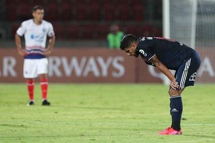 San Lorenzo espera más confiado gracias al gol de visitante. Con el empate 0-0 como local, avanzará de fase en la Copa Libertadores (REUTERS/Esteban Felix)