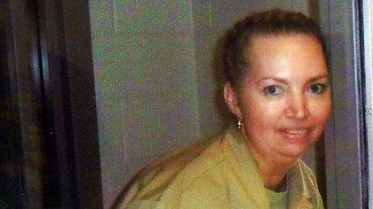 Lisa Montgomery había cumplido 36 años y era madre de cuatro h hijos cuando le hizo creer a su nuevo marido que estaba embarazada (REUTERS)