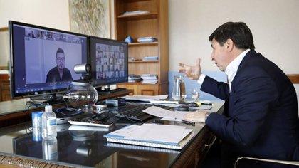 Reunión virtual de la Mesa contra el Hambre