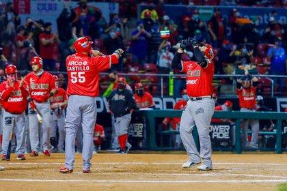 Los tomateros buscan darle su décimo campeonato a México (Foto: Twitter@beisboldecaribe)
