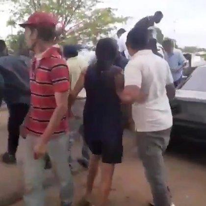El régimen de Maduro reprimió a la población que se manifestaba