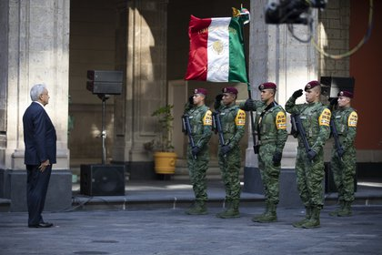 Andrés Manuel López Obrador, presidente Constitucional de los Estados Unidos Mexicanos rinde su 2º Informe de Gobierno. (Foto: Presidencia)