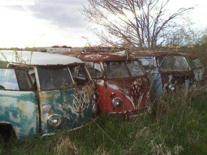 Aunque no parecen en muy buen estado, el vendedor asegura que sí lo están y se pueden restaurar