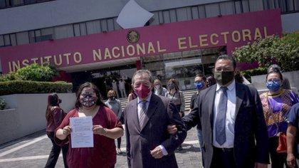 El TEPJF ordenó al Consejo General del Instituto Nacional Electoral (INE) modificar algunos aspectos de la convocatoria para elegir al dirigente de morena (Foto: Cuartoscuro)