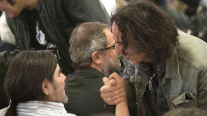 El hijo de Mercedes Sosa con Javier Calamaro (NA)